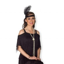 Necklace Pearl Flapper