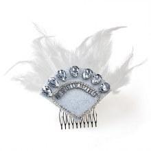 Flapper Headpeice Silver