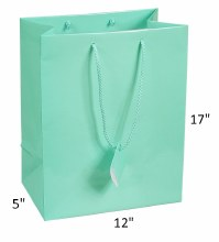 Gift Bag XL Robins Egg Blue