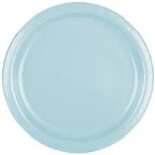Blue Pastel 9in Paper Plates 24ct
