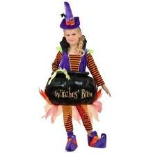 Cauldron Witch Child L