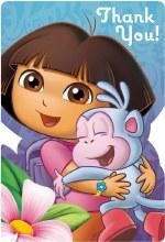 Dora Thank You Cards 8ct