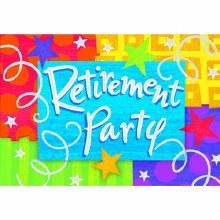 Happy Retirement Invites