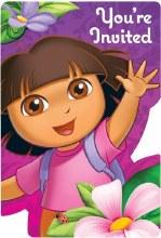 Dora Invites 8pk