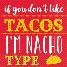 Nacho Type Bev Nap