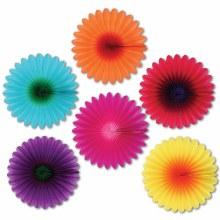 Flower Fans Mini 6in