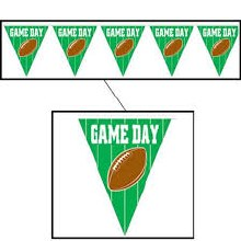Game Day Pennant Banner