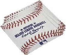 Rawlings Baseball Beverage Napkins 16ct
