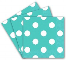 Robins Egg Blue Poka Dot BNaps