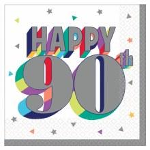 Happy 90th Bev Napkin