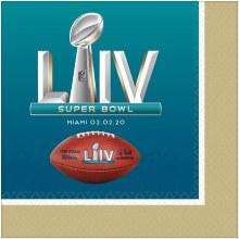 Super Bowl LIV Napkins Bev