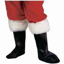 Deluxe Santa Boot Toppers