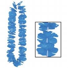 Lei Blue Silk n Petals