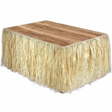 Luau Tableskirting Raffia