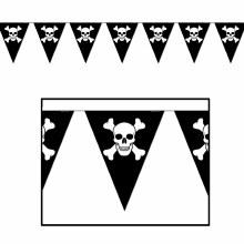 Banner Jolly Roger Pennant