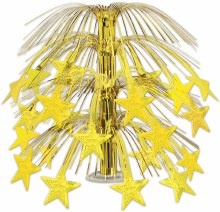 Centerpiece Gold Stars