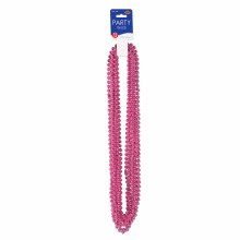 Beads Party Sm Rnd Cerise
