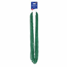 Beads Party Sm Round Green