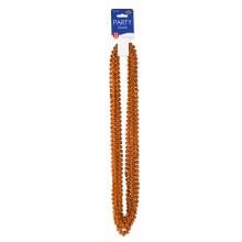 Beads Party Sm Round Orange