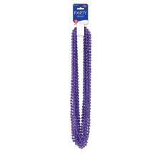 Beads Party Sm Round Purple