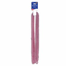 Beads Party Sm Round Pink
