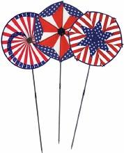 Patriotic Wind Wheels