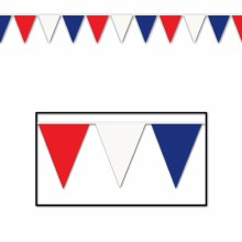 Pennant Banner 18x30 RWB