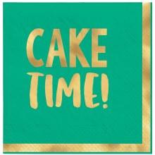 Happy Dots Cake Time Beverage Napkins 16ct