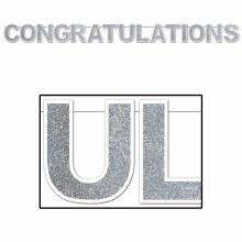 Banner Congratulations Opal