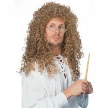 Wig Curly Auburn