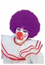 Wig Ht Purple Clown