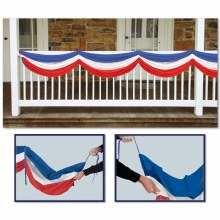 Bunting Red/White/Blue Fabric