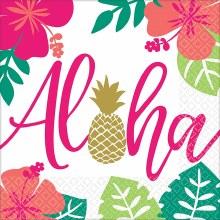 Aloha Pineapple Lunch Napkins