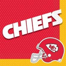Kansas City Chiefs Lunch Napkins