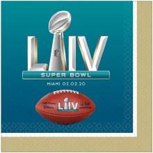 Superbowl LIV Napkin Lunch