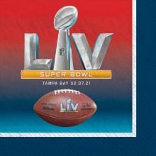 Super Bowl Lunch Napkins