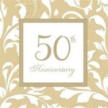 Gold 50th Anniversary Lun Nap