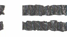Garter/Armbands Black