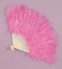 Fan Feather Hot Pink