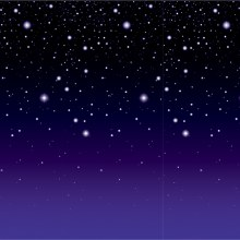 Backdrop Stary Night
