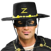 Zorro Hat & Eyemask Set