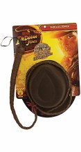 Indiana Jones Hat & Whip Adult