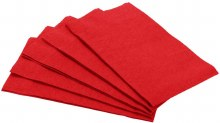 Apple Red Guest Towels 16ct