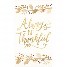 Always Thankful Guest Towels
