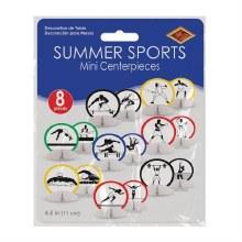 Summer Sports Olympics Centerpieces