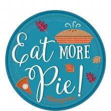Eat More Pie 7in Plt