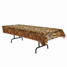 Tiger Print Pl Tablecloth