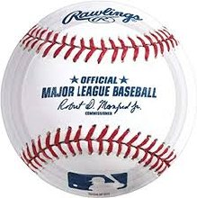 Baseball 7in Plates 8ct
