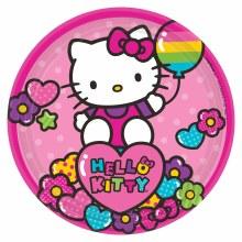 Hello Kitty Rainbow 7in Plt
