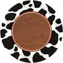 Yee Haw 7in Plates 8ct